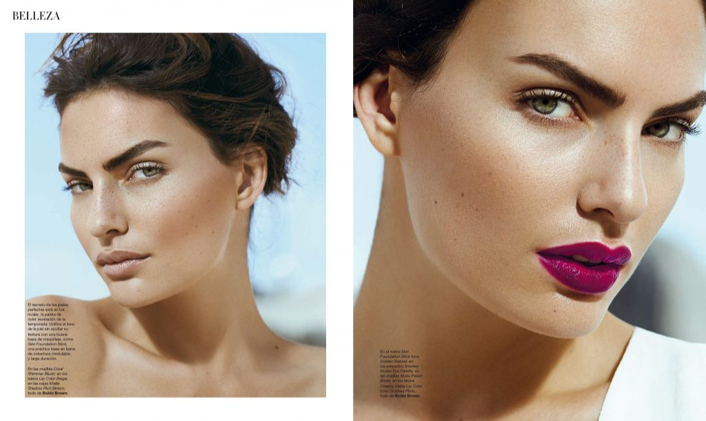 Danny Cardozo - Alyssa Miller for Spain Bazaar - Beauty 010