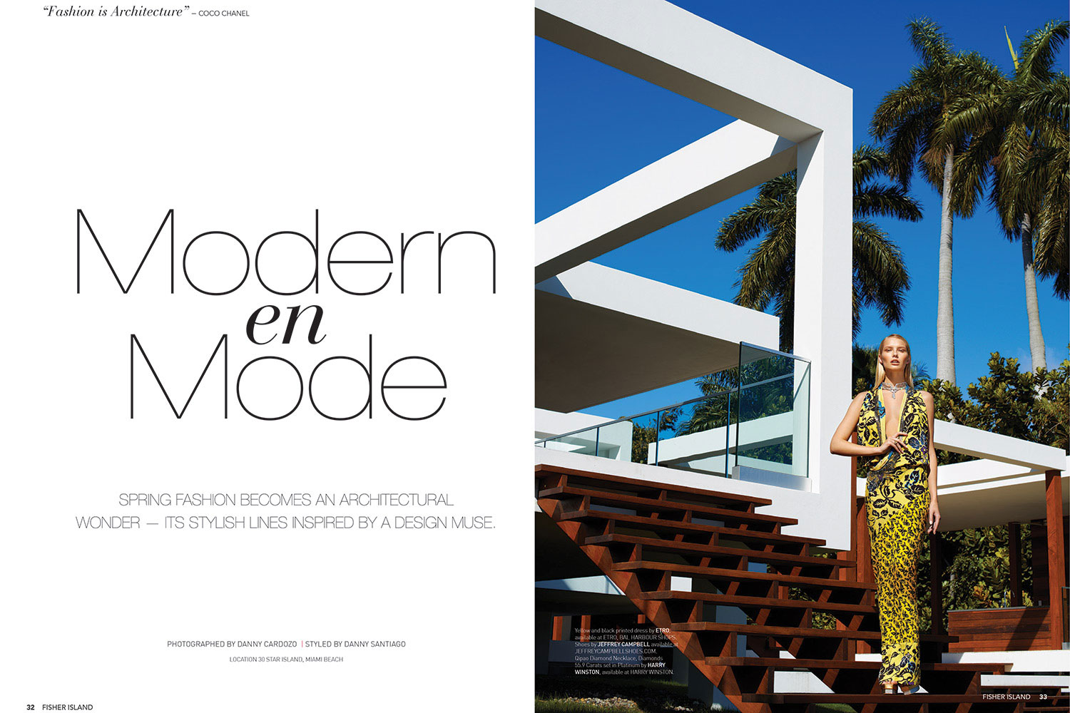 Danny Cardozo Photography - Modern en Mode Fisher Island